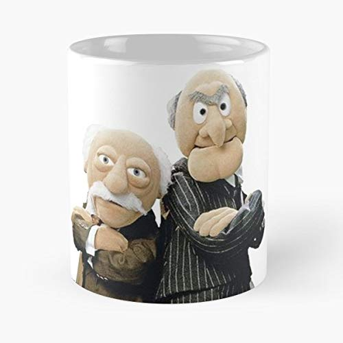 Muppets Statler Waldorf Old - Best Gift Mugs Men Balcony Mug Coffee For Gifts Cup Women Tumbler Cups 11 Oz ()