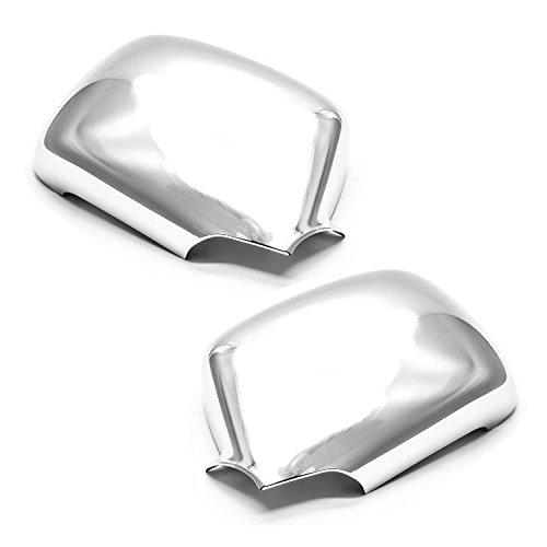 Sizver Chrome Door Mirror Cover For 2004-2013 Chevy Colorado