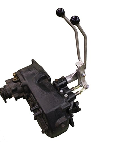 JB Custom Fabrication D20JJS Stainless Steel Twin-Stick Shifter For Jeep Commando / Jeepster W/ 3-Speed ()