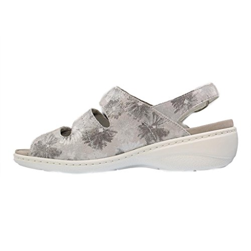 Waldläufer - Sandalias de vestir para mujer gris gris gris