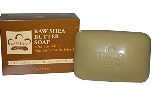 Bar Soap Raw Shea W Frankincense Myrrh, 6 bars