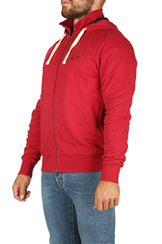 SUN68 Herren Langarmshirt rot rot
