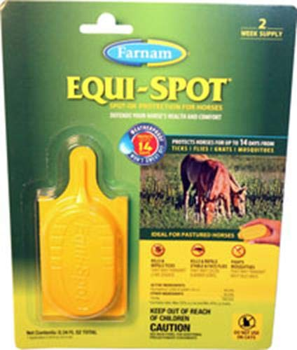 Farnam Equi-Spot Spot On Protection for Horses, 2-Week Supply with 1 Application