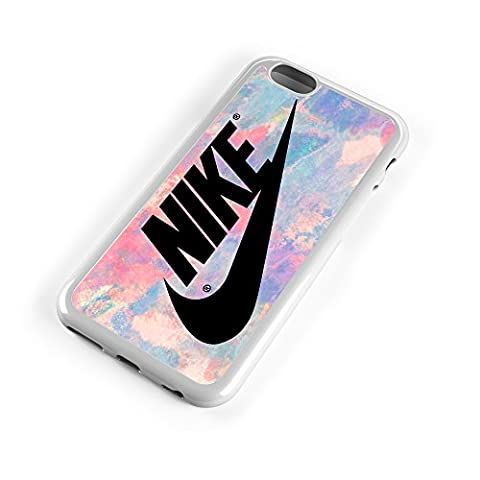 Nike Logo Pink Pastel Turquois 3D Print Custom Case for Iphone 4/4s 5 5s 5c 6 6plus (iPhone 6/6s (Pink Iphone 5c Phone Case)