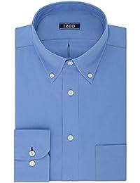 Men's Big and Tall Dress Shirts Stretch Big Fit Solid