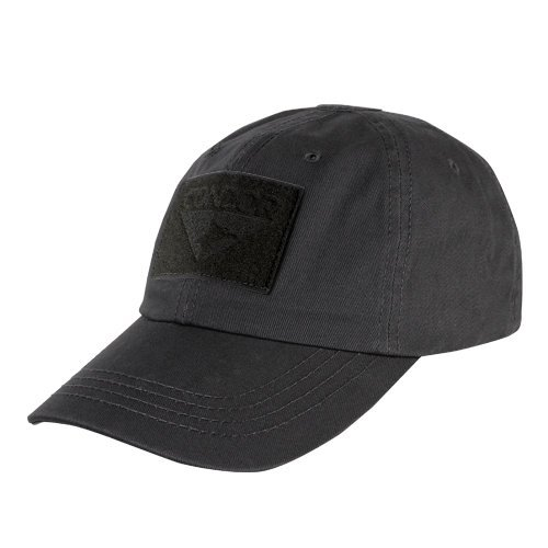 Condor Tactical Cap (Black, One Size Fits All)