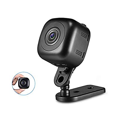 Mini Spy Camera, Mofek Portable Small 1080P HD Hidden Camera Nanny Cam with Night Vision for Home, Car, Office/Outdoor