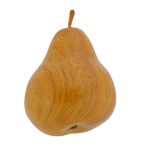 Artificial Faux Wood Tone Pear (72, C07)