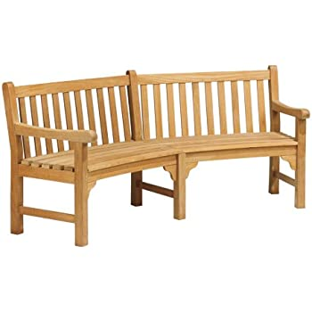 Amazon Com Achla Designs Monet Bench Ofb 09 Natural