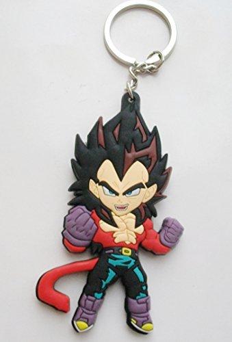 3″ Dragon Ball Z PVC Rubber Schlüsselanhänger Keyring #1