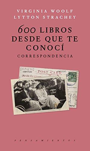 600 Libros desde que te conoci Correspondencia (PENSAMIEN
