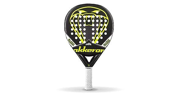 Akkeron pala de padel Black Cobra R X9 funda incluída | negro y ...