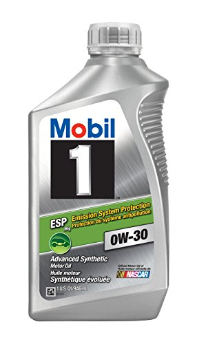 Mobil 1 121218 0W-30 ESP Motor Oil - 1 Quart (Pack of 6) (Mobil One 5w40 compare prices)