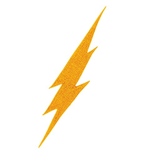 - Tiger Claw Patch - Lightning (Yellow)