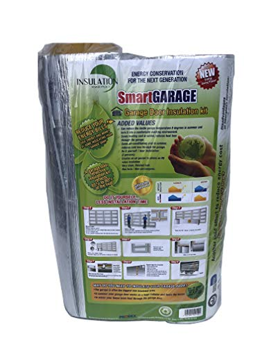 SmartGARAGE- Reflective Garage Door Insulation Kit - 9W x 7H (Reflective/Reflective)