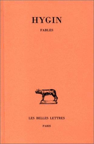 Fables Broché – 15 avril 2003 Hygin Les Belles Lettres 2251014039 TL2251014039