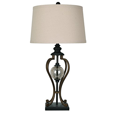 Crestview Collection Whitby Oil Rubbed Bronze Table Lamp by Crestview