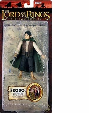 ilogy Edition > Frodo with Light-Up Sting Sword Action Figure ()