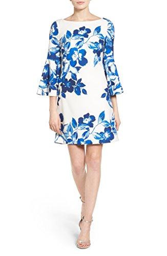 裂け目故国かんがい[エリザジェイ] レディース ワンピース Eliza J Floral Shift Dress (Regular & Pe [並行輸入品]