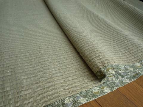 い草上敷きカーペットござ五八間6畳 264×352cm 純国産日本製 知床