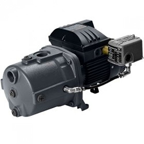Grundfos JP5-61DSA Cast Iron Deep Well Jet Pump, 1.5 HP, 230V