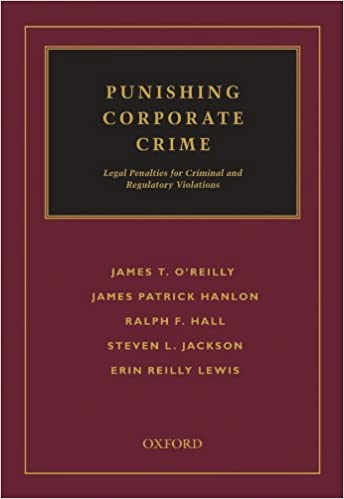 Punishing Corporate Crime: Legal Penalties for Criminal and