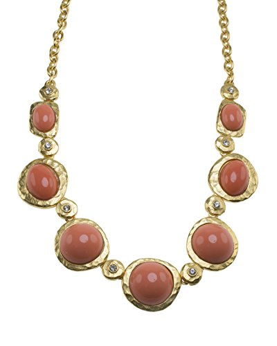 Kenneth Jay Lane femme    Plaqué or Rond   Rose Andere