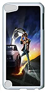 Back to the future Custom iPod Touch 5 Case Cover Polycarbonate White