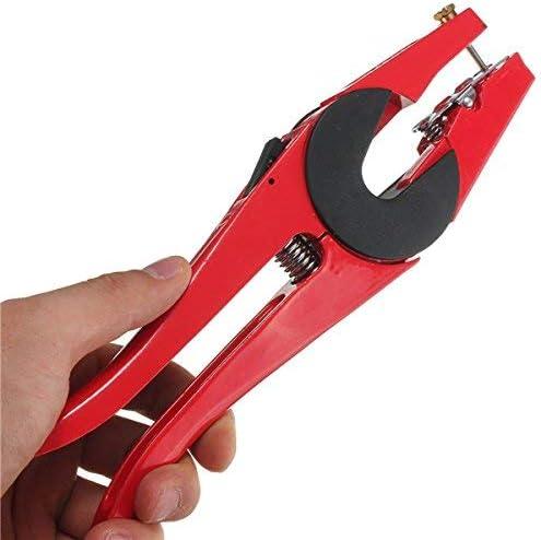SSY-YU 牛家畜メタルヤギのために耳標動物プライヤー鉗子アプリケーター ペンチ 切断工具