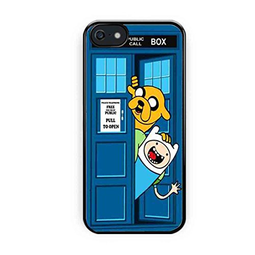 Adventure Time Jake Finn In Dr Who Tardis iPhone 5s Case, iPhone 5 Case
