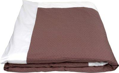"""J-Life Authentic Traditional Japanese Kakefuton (Kakebuton) Silk-Filled Comforter - Double Size (82"""" x 92"""")- Seikai Ha Lavender"""