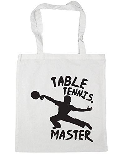 Table Beach Bag White Shopping 42cm HippoWarehouse litres Tennis Master Gym Tote 10 x38cm T7OxwdYq