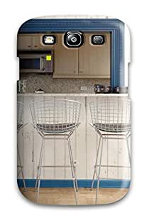 New Premium URuNrLT2301kBxyx Case Cover For Galaxy S3/ Modern Bar Stools At Kitchen Pass-through Protective Case Cover
