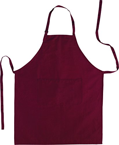 Küchenschürze - Grillschürze - Baumwolle bordeaux