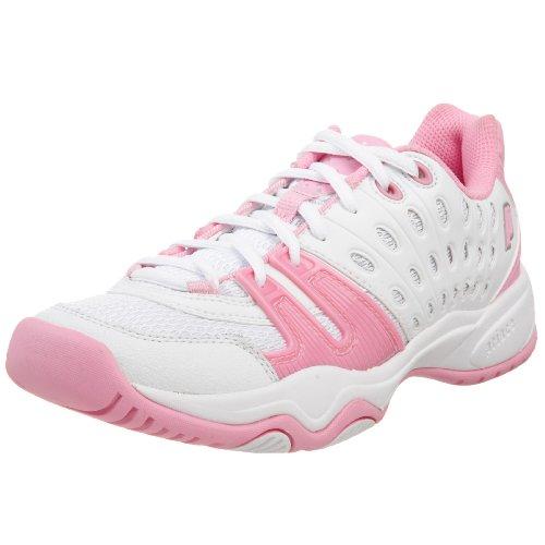 - Prince Little Kid/Big Kid T22 Tennis Shoe,White/Pink,7 M US Big Kid