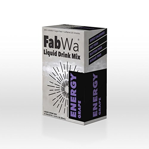 FabWa Liquid Energy Drink Mix - Grape - Single Box