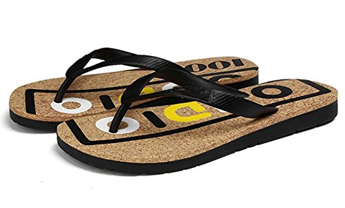 2017 tide printed letters alphabet drag summer daily casual beach sandals men's shoes , 2 , 43