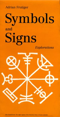 Symbols And Signs Explorations Adrian Frutiger 9783721204384