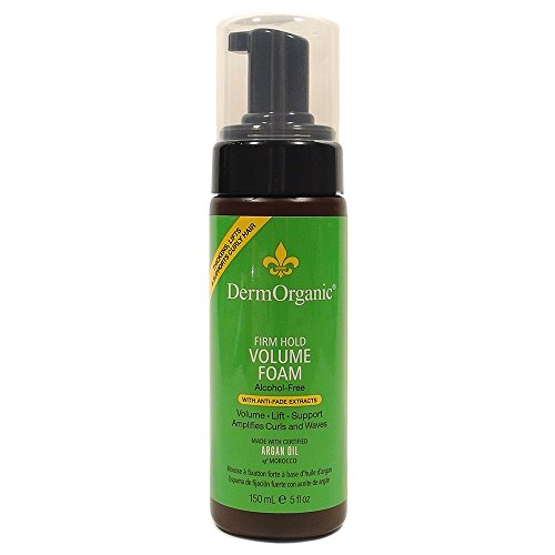 dermorganic-firm-hold-volume-foam-with-argan-oil-for-unisex-set-of-2-5-oz