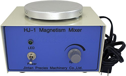 Duda Energy mags Aluminum HJ-1 Magnetic Stirrer for Use with Magnetic Stir Bars, 2400 RPM