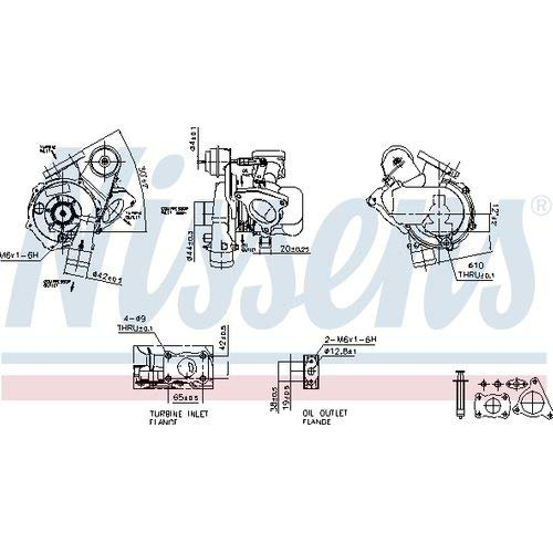 Nissens 93094 Turbo Charger:
