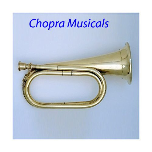 Civil War Era Solid Brass Bugle US Military Cavalry Horn (Chopra) by Chopra