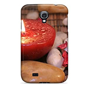 Snap-on Case Designed For Galaxy S4- Meditation In Red