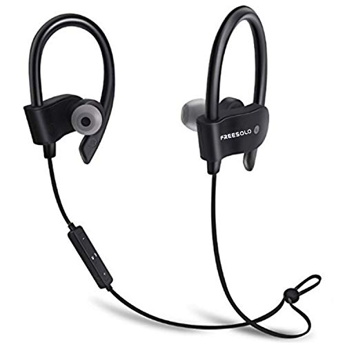 Freesolo Bluetooth 4 1 In Ear Noice Isolating Sport Amazon In