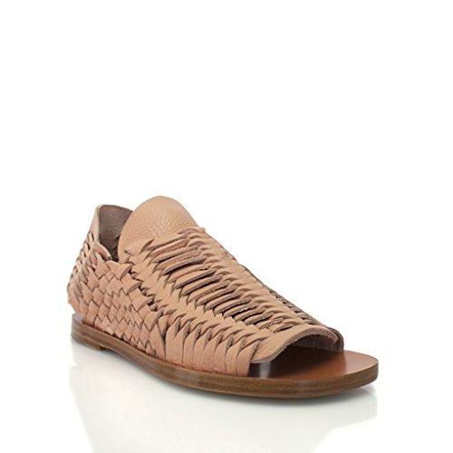 Sandalo Con Stampa Pitone Piatto Daniele Michetti Naturale