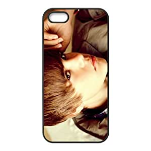 Justin Bieber iPhone 5 5s Cell Phone Case Black gift W9600122