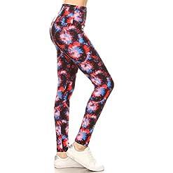 Leggings Depot Yoga Waist Regplus Womens Buttery Soft Leggings