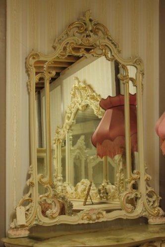 LouisXV Specchio per Una Console Antico Stile Barocco vp5104/01acd ...