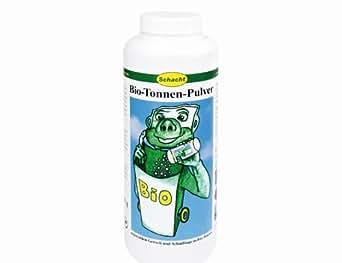 Schacht - Polvos para contenedores de basura orgánica (750 gr)