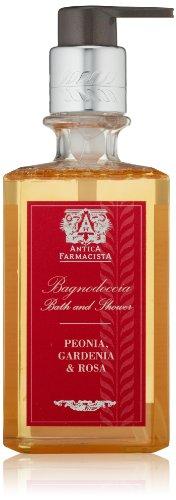 Antica Farmacista Bath and Shower Wash, Peonia, Gardenia & Rosa, 10 fl. oz.